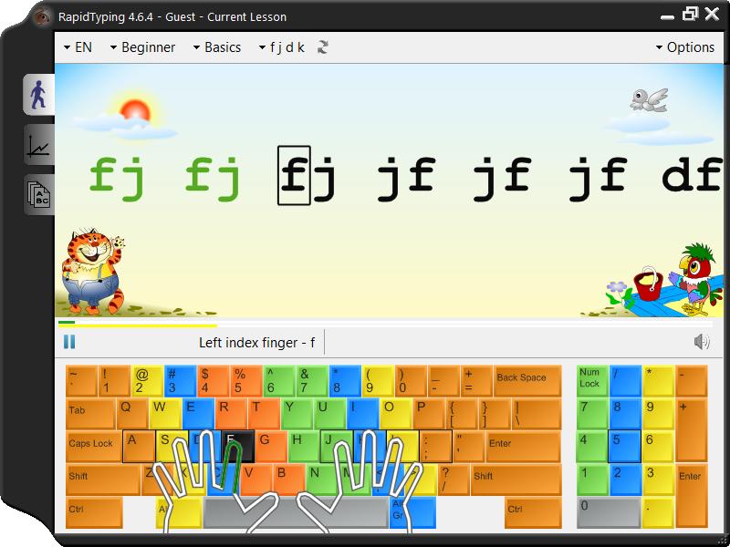 Download Rapid Typing Tutor Free